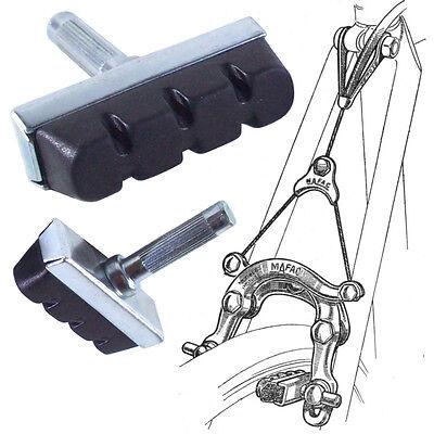 2x Bremsschuhe Fahrrad Cantilever Bremsklötze Fahrradbremse Brensbeläge Bremse