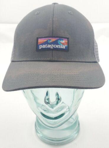 Patagonia P6 Logo Trucker Hat Forge Grey Snapback