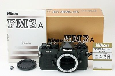 **MINT** Nikon FM3A SLR Film Camera Black Body WITH Original Box From Japan #511