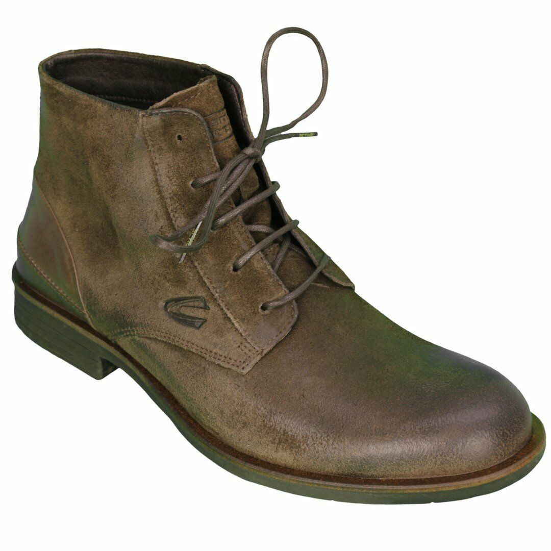 Camel Active Men's shoes Boots Brown Check 499.12 02