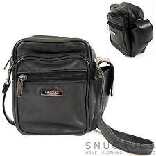 Mens / Ladies Soft Nappa Leather Shoulder /Cross Body / Belt Bag / Pouch