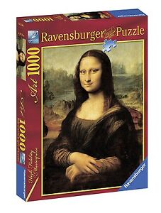 RAVENSBURGER-PUZZLE-LEONARDO-DA-VINCI-LA-GIOCONDA-1000-PEZZI-ART-15296
