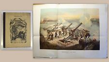 Zimmermann: Subskriptions-Liste 1870/71 Werbemappe mit Lithografie Hochdanz - xz