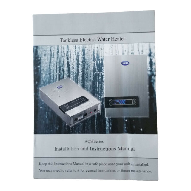 aquah 27 kw on-demand electric tankless water heater for sale online