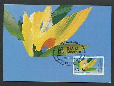 Natur & Pflanzen Brd Mk 1983 Iga MÜnchen Gartenbau Maximumkarte Carte Maximum Card Mc Cm D8212 Attraktiv Und Langlebig