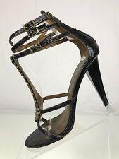edb5f9e3dcb43 item 1 Sam Edelman Nilla Strappy Heels- T-Strap Beaded Black Open Toe  Sandals Womens 8M -Sam Edelman Nilla Strappy Heels- T-Strap Beaded Black  Open Toe ...