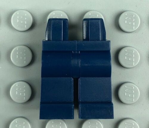 Minifig Legs 970c00 x1 LEGO Minifigure Dark Blue Hips /& Legs Assembly