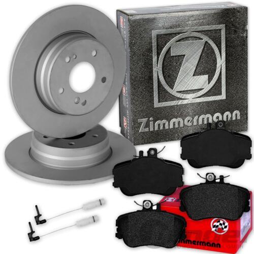 Zimmermann BREMSSCHEIBEN 284mm BELÄGE VORNE MERCEDES C-KLASSE W202