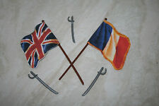 Britains Deetail RICAMBIO francese / British Flag x2 + swords.napoleonic.