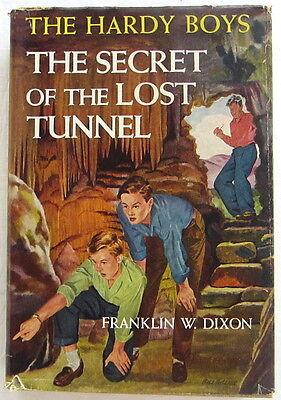 Hardy Boys #29 SECRET OF THE LOST TUNNEL Franklin W Dixon Dust Jacket