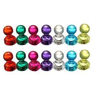 14-Stk-Starke-Neodym-Magnete-Kegelmagnete-Super-Magnet-Pinnwand-Buero-Chess