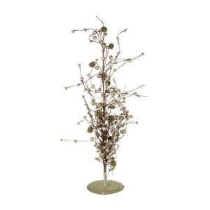 Heaven-Sends-Grandi-In-Metallo-Decorativa-Albero-Sparkle-Glitter-Alto-76cm-DAL001C
