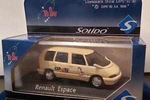 SOLIDO-1-43-RENAULT-ESPACE-EXPO-92-NEUF-EN-BOITE