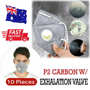 10Pcs P2/KN95 Respirator Mask Exhalation Valve Filter PM2.5 Anti Pollution Dust
