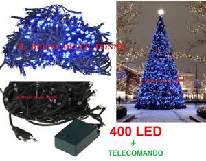 400-LUCI-LED-BLU-CON-8-FUNZIONI-FILO-VERDE-PER-ALBERO-DI-NATALE-ALBERO-LED-LUCI