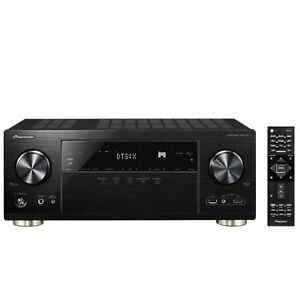 Pioneer VSX-1131-B 7.2 AV Receiver 4K Airplay Bluetooth WiFi Dolby Atmos schwarz