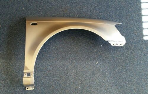AUDI A3 2003-2008 FRONT WING PAINTED LY7W SILVER O//S RIGHT HAND NEW