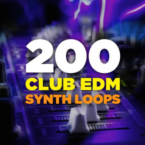 200 Club EDM Bass Synth Loops Electro House 24-Bit WAV Ableton Logic FL Studio