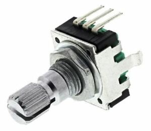 Details about Bourns 24 Pulse Incremental Mechanical Rotary Encoder with a  6 mm Knurl Shaft (I