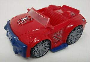 Marvel-Super-Hero-Squad-Spider-Man-Vehicle-Car-Only-FOR-2-5-034-ACTION-FIGURES