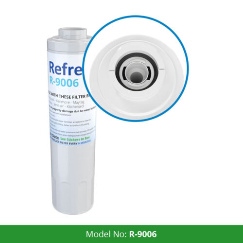 Refresh Replacement Water Filter Fits Maytag MFI2568AEB Refrigerators 6 Pack