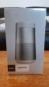 Bose SoundLink Revolve Bluetooth Portable Water-Speaker - Lux Grey (NEW, SEALED)