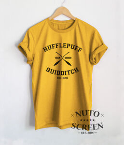 3abe8d68c HUFFLEPUFF QUIDDITCH SHIRT TEAM SEEKER T SHIRT HARRY POTTER CLOTHING ...
