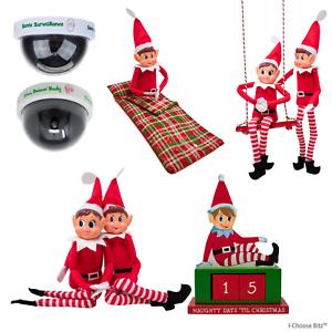 ELF-comportarsi-Male-Naughty-12-034-fotocamera-Elf-Christmas-Santa-Sacco-a-pelo-Swing