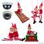 ELF-comportarsi-Male-Naughty-12-034-fotocamera-Elf-Christmas-Santa-Sacco-a-pelo-Swing miniatura 1