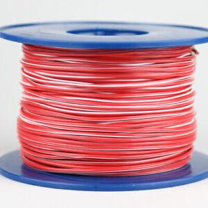 Kabel 1,5 qmm rot//weiss 1m Fahrzeug Litze Leitung Strom Lautsprecher