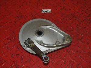 Bremstrommel-Bremsplatte-Bremse-brake-plate-drum-15096km-Honda-XBR-500-PC15-2
