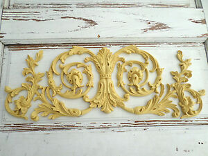 Genial Image Is Loading Architectural Furniture Appliques Onlays  Wood FLEXIBLE Amp STAINABLE