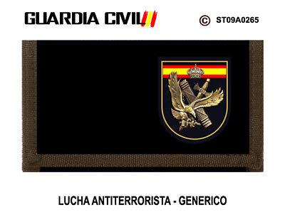LUCHA ANTITERRORISTA GENERICO M3 MONEDEROS GUARDIA CIVIL