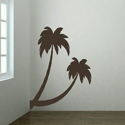 LARGE PALM TREE BEACH HALL BEDROOM WALL ART MURAL GIANT TRANSFER STICKER DECAL