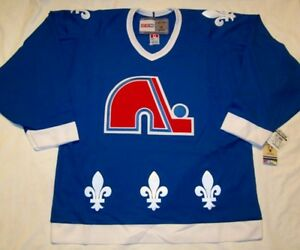 Image is loading QUEBEC-NORDIQUES-size-Medium-CCM-550-VINTAGE-series- 16e5379a3