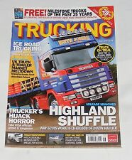 TRUCKING JUNE 2009 - HIGHLAND SHUFFLE/ICE ROAD TRUCKING/TRUCKER'S HIJACK HORROR