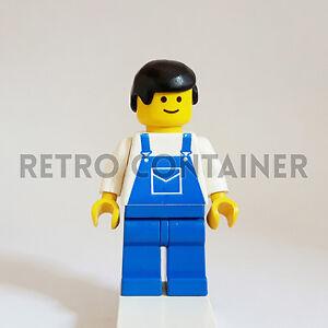 Classic Omino Minifig 6481 4563 6656 1x trn025 Mechanic LEGO Minifigures