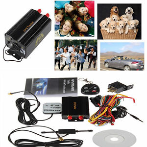 NEW GPS/SMS/GPRS TRACKER TK103B VEHICLE TRACKING SYSTEM WITH REMOTE CONTROL OUY