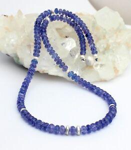 Natural-Tanzanita-Cadena-de-Piedra-Preciosa-Violeta-Azul-Facetada-Diseno-Collar