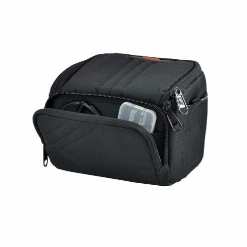 Negro cámara caso bolsa para Canon PowerShot SX540 HS SX420 IS G3X SX430 Puente