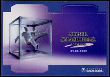cartolina pubblicitaria PROMOCARD n.3052 NINTENDO GAME CUBE SUPER SMASH BROS