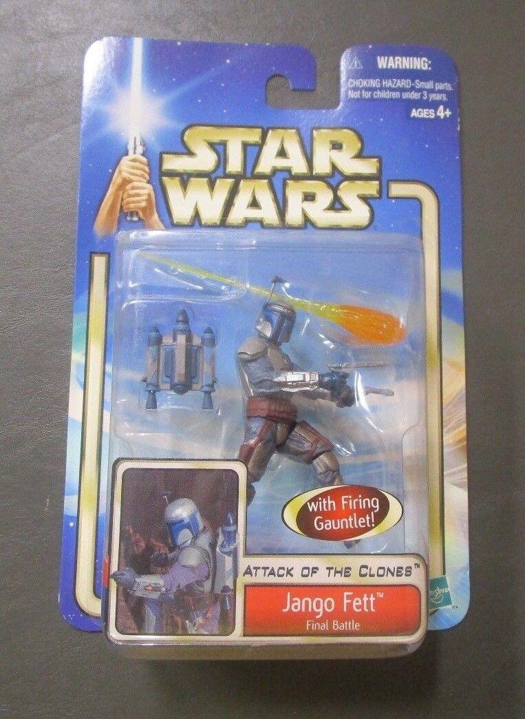 Jango Fett Final Battle 2002 STAR WARS The Saga Collection MOC #31