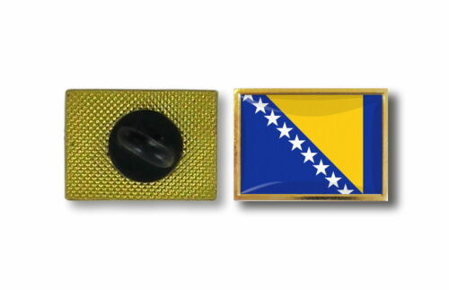 pins pin/'s flag national badge metal lapel backpack hat button vest bosnia