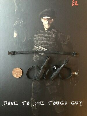 WOLF KING Tough Guy Lee Christmas Expendables Black Beret loose 1//6th scale