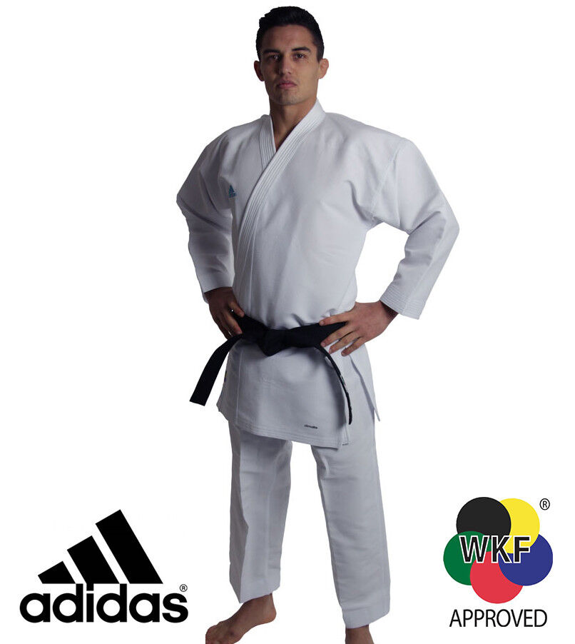 New  adidas Karate Kumite Revoflex WKF Martial Arts Uniform