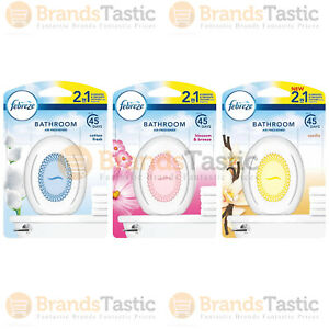 1 X Febreze 2 In 1 2in1 Bathroom Small Spaces Home Room Office Air Freshener Ebay