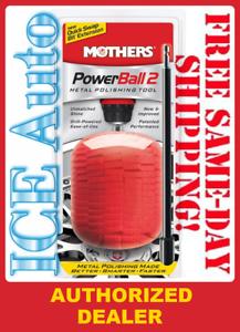 "Mothers POWERBALL 2 /""New /& Improved/"" Metal Polishing Tool 05143"