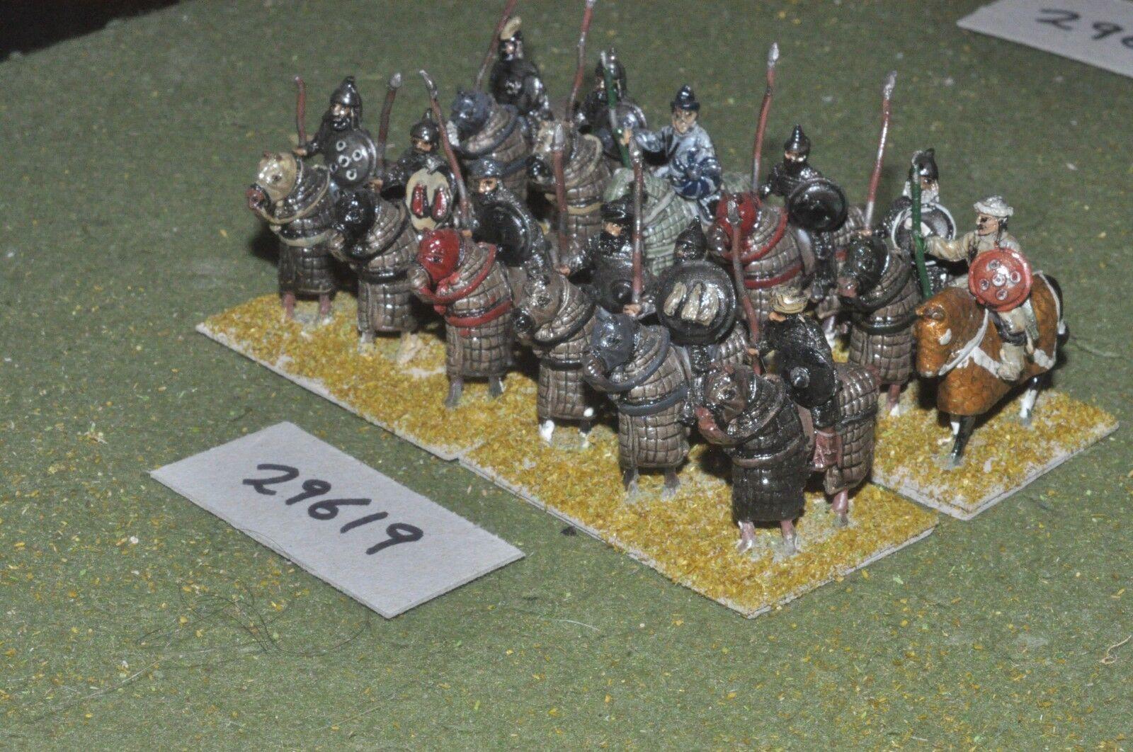 25mm medieval   saracen - heavy 12 figures - cav (29619)