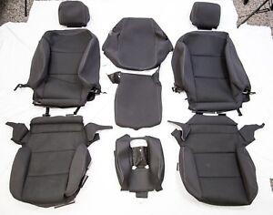OEM-2018-Chevrolet-Silverado-Regular-Cab-Black-Cloth-Interior-Complete