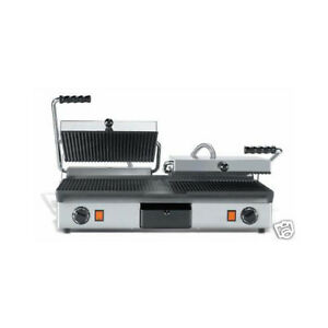 Doble-placa-de-hierro-fundido-sandwiches-media-mitad-anoto-lisa-RS1693